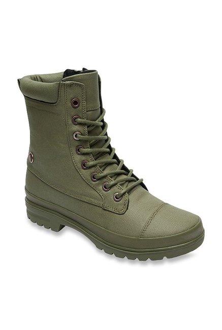 DC Amnesti Olive Casual Boots