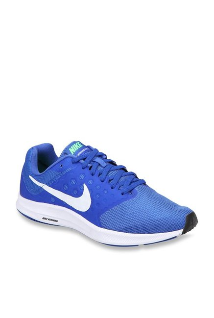 ce96e383061 Buy Nike Downshifter 7 Blue Running Shoes for Men at Best Price   Tata CLiQ