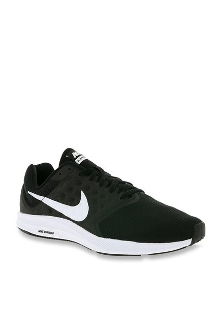 28fa3cad7bb76 Buy Nike Downshifter 7 Black Running Shoes for Men at Best Price   Tata CLiQ