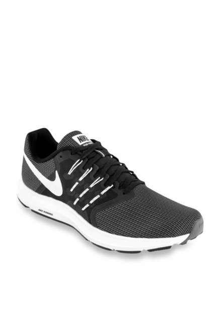 22b357a78 Buy Nike Run Swift Black Running Shoes for Men at Best Price @ Tata CLiQ