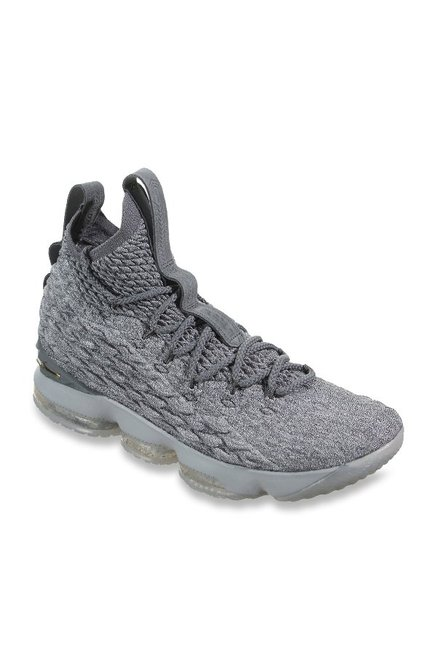 79c9c1c3cea0 Buy Nike Lebron XV Wolf Grey Basketball Shoes for Men at Best Price   Tata  CLiQ
