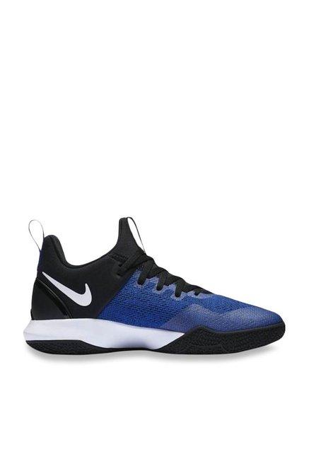 aa0ab8e7d1ae Buy Nike Zoom Shift Royal Blue   Black Basketball Shoes for Men at ...