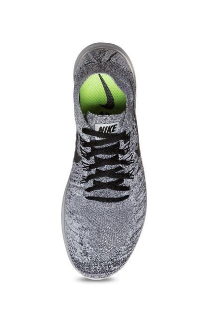 591715179321 Buy Nike Free RN Flyknit 2017 Grey Running Shoes for Men at Best ...