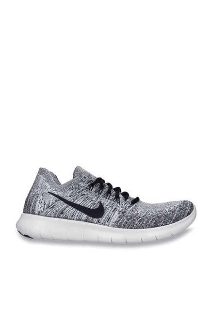 cbb627f07305 Buy Nike Free RN Flyknit 2017 Grey Running Shoes for Men at Best Price   Tata  CLiQ