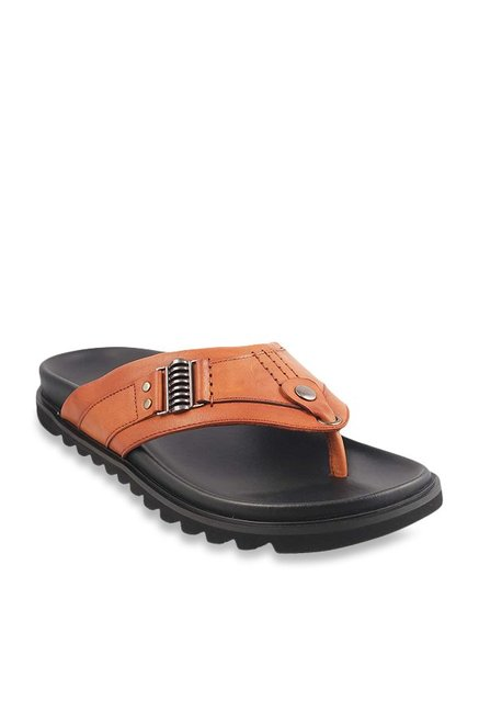 e804771f8d63 Buy Da Vinchi by Metro Tan Thong Sandals for Men at Best Price ...