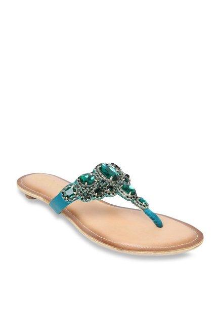 d5818e5c80dc Buy Catwalk Sea Green T-Strap Sandals for Women at Best Price ...