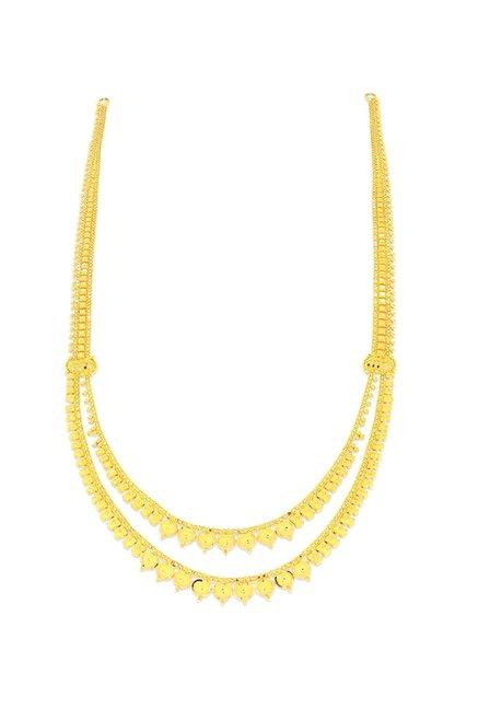 Buy Candere by Kalyan Jewellers Raani Haaram Nivara 22k Gold