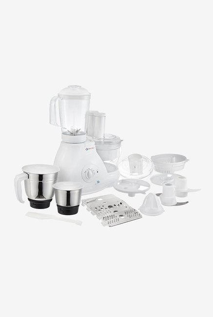Bajaj FX11 600W 3 Jars Food Processor (White)