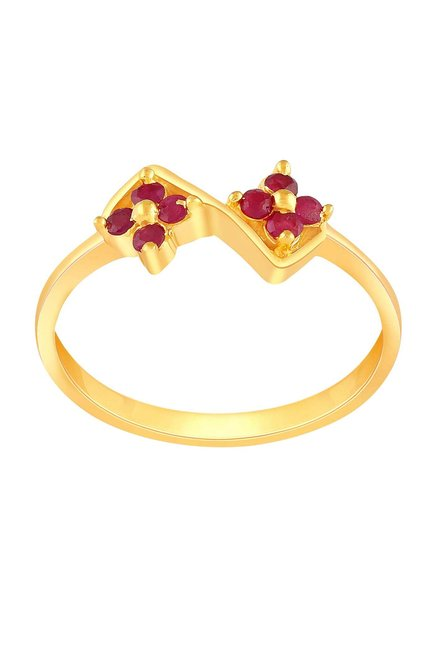 filigree exclusie gold rings ladies indian beautiful ring