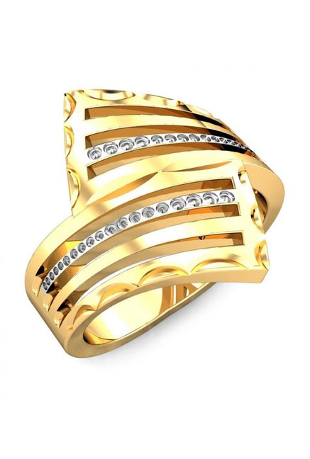 Buy Candere by Kalyan Jewellers Jayna 22k Gold Ring Online