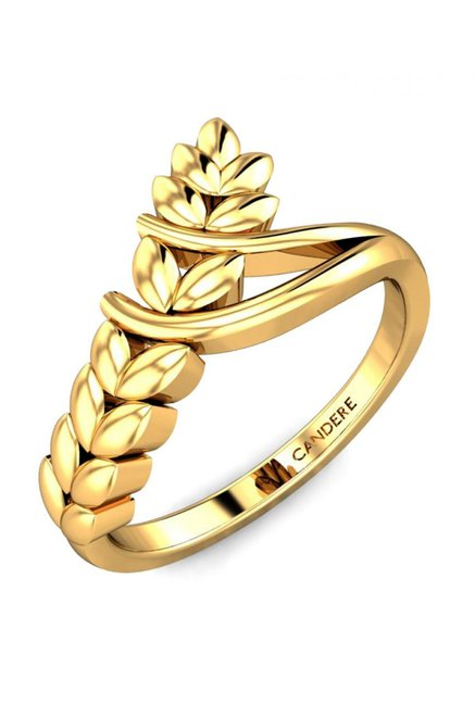 Candere by Kalyan Jewellers Jayden 22k Gold Ring