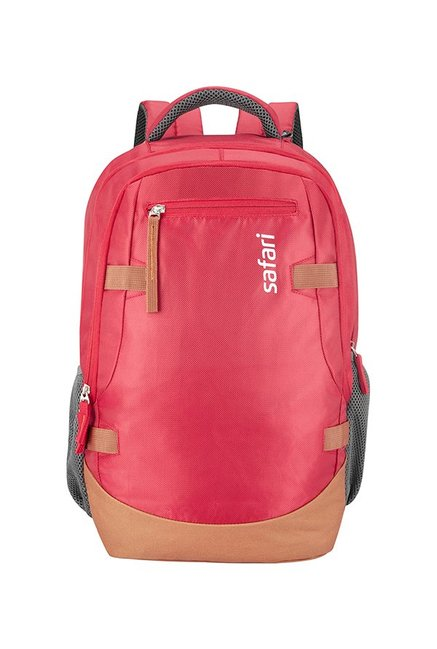 Safari Brisk Red Laptop Backpack