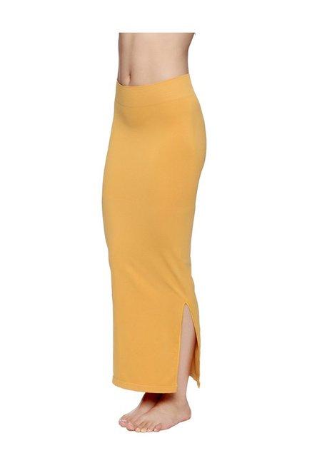 ce4db57036 Buy Zivame Mustard Polyamide Mermaid Saree Shapewear for Women ...