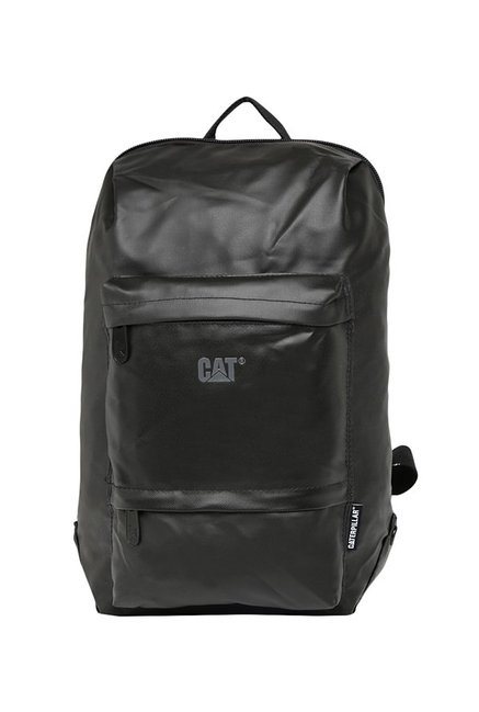 CAT Concept X Black Solid Polyester Laptop Backpack