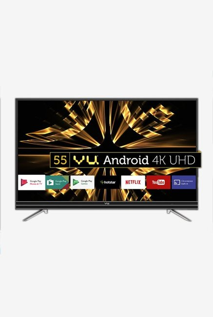 Vu 55SU134 140 cm  55 Inches  4K Ultra HD Smart LED TV  Black