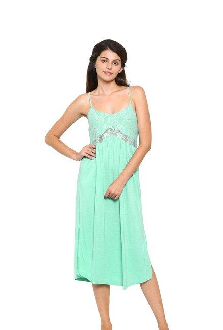 b550ed20c940 Buy Mystere Paris Green Lace Dress Online At Best Price   Tata CLiQ