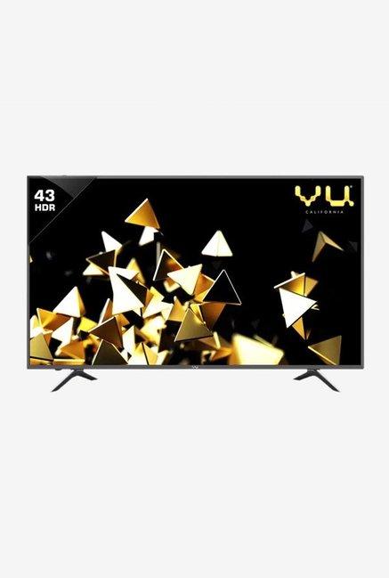Vu 9043U 108cm  43 Inches  Ultra HD 4K LED Smart TV  Black   3 Years Warranty