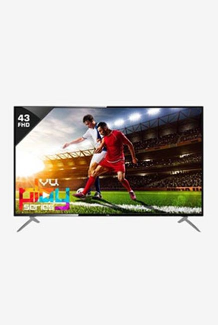 VU 109 cm  43 Inches  Full HD LED TV 43D6545  Black