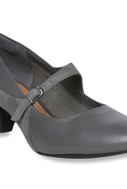 Buy Clarks Denny Bradford Grey Mary Janes for Women at Best Price @ Tata CLiQ