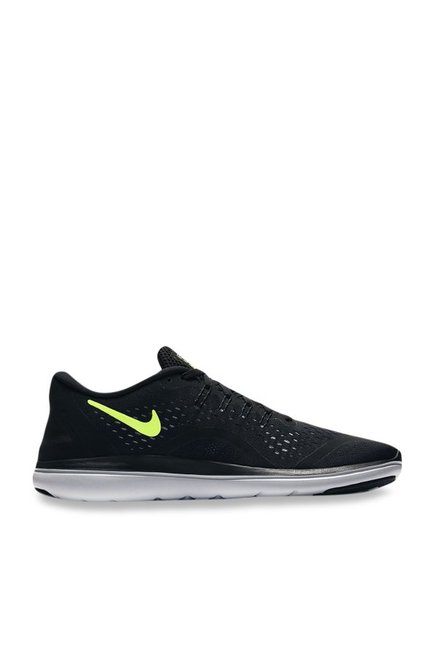 33e98fad4319 Buy Nike Flex 2017 RN Black Running Shoes for Men at Best Price   Tata CLiQ