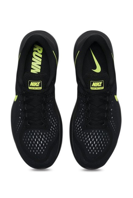 07106941c932 Buy Nike Flex 2017 RN Black Running Shoes for Men at Best Price ...