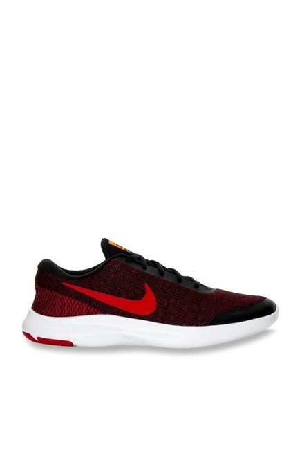 22ebb92f0e494 Buy Nike Flex Experience RN 7 Red   Black Running Shoes for Men ...