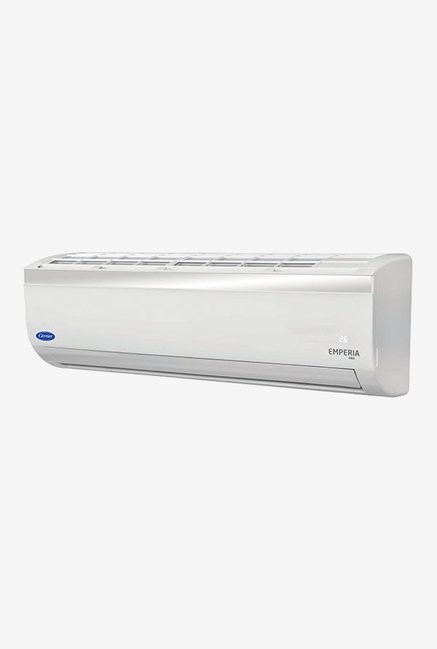 Carrier 1.5 Ton 3 Star (BEE Rating 2018) EMPERIA PRO CAS18EP3J8F0 Copper Split AC (White)