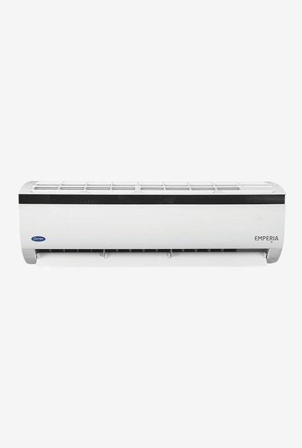 Carrier 1.5 Ton Inverter 5 Star (BEE Rating 2018) EMPERIA 5i CAI18EM5C8F0 Copper Split AC (White)