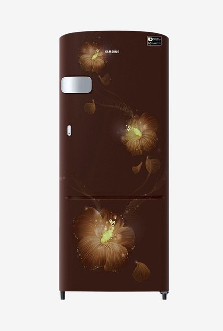 Samsung RR20N1Y2ZD3/HL 192 L INV 3 Star Direct Cool Single Door Refrigerator (Rose Mallow Brown)