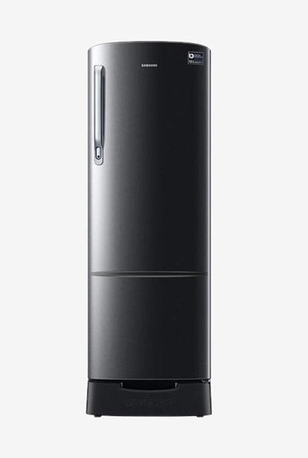 Samsung 255 L INV 3 Star Direct Cool Single Door Refrigerator  Black Vcm, RR26N389ZBS/HL