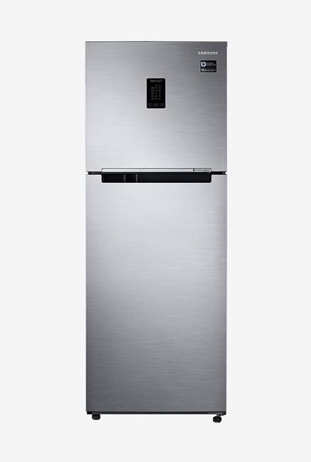 Samsung RT34M5538S9/HL 324L INV 3S Frost Free Double Door Refrigerator (Refined Inox)