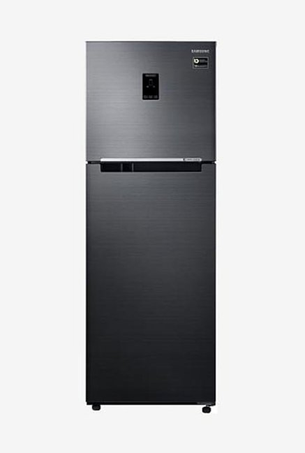 Samsung RT37M5538BS/HL 345L INV 3S Frost Free Double Door Refrigerator (Black VCM)