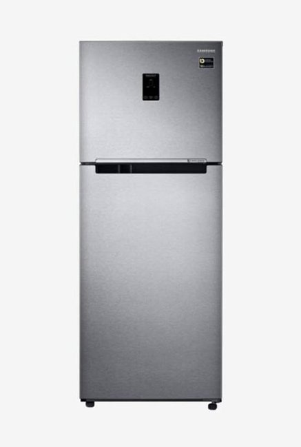 Samsung RT39M553ESL/TL 394L INV 4S Frost Free Double Door Refrigerator (Real Stainless)