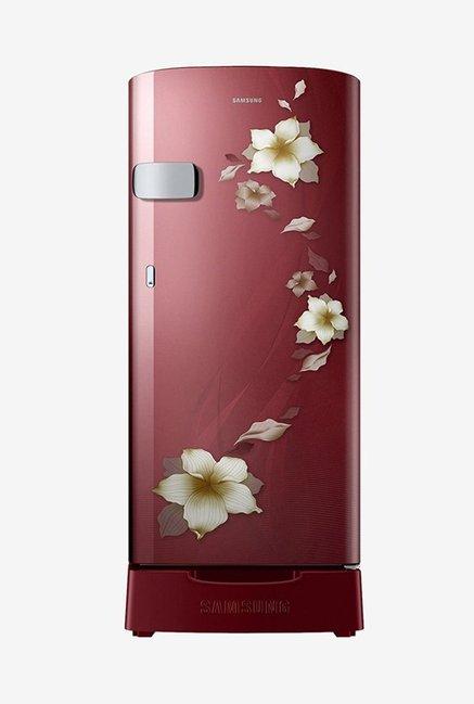 Samsung RR19N2Z22R2/NL 192 L 2 Star Direct Cool Single Door Refrigerator (Star Flower Red)