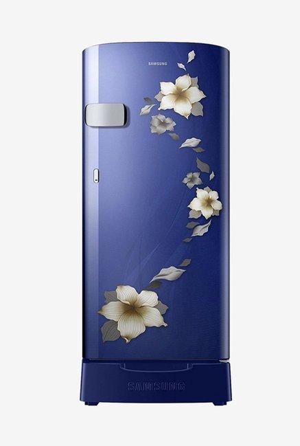 Samsung RR19N2Z22U2/NL 192 L 2 Star Direct Cool Single Door Refrigerator (Star Flower Blue)