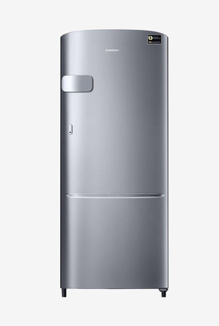 Samsung RR20N1Y1ZSE/HL 192 L INV 3 Star Direct Cool Single Door Refrigerator (Electric Silver)