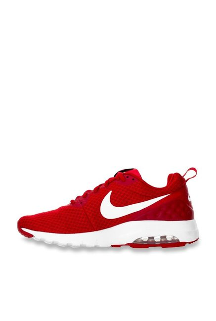 quality design 57750 2a546 Nike Air Max Motion LW Red   White Running Shoes