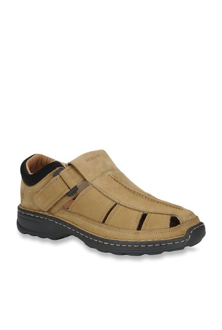 13041970830 Buy Woodland Camel Fisherman Sandals for Men at Best Price   Tata CLiQ
