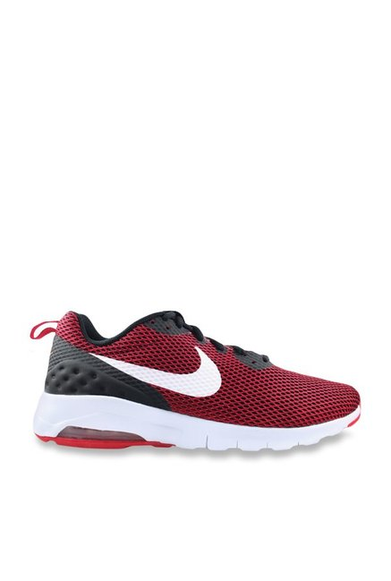 classic fit 1261a dbc3d Buy Nike Air Max Motion LW Red   Black Running Shoes for Men at Best Price    Tata CLiQ