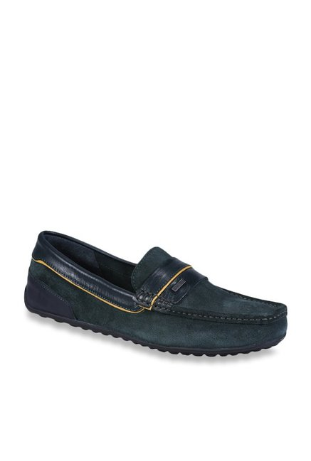 227f202dbc4e Buy Woodland Bottle Green Casual Loafers for Men at Best Price   Tata CLiQ