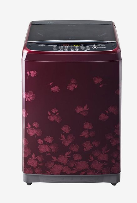 LG T7581NEDL8 6.5 KG Top Load Fully Automatic Washing Machine, Maroon