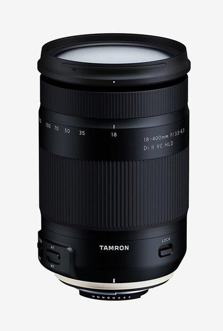 Tamron 18 400mm F/3.5 6.3 Di II VC HLD Lens for Nikon DX  Black