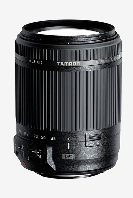 Tamron 18 200mm F/3.5 6.3 Di II VC Lens for Canon EFS  Black