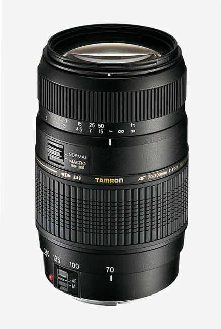 Tamron AF 70-300mm F/4-5.6 Di LD MACRO 1:2 Lens for Canon (Black)
