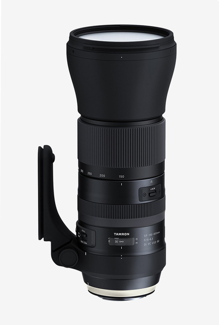 Tamron SP 150 600mm F/5 6.3 Di VC USD G2 Lens for Canon  Black
