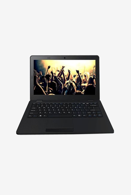 Micromax Canvas Lapbook L1160 (Atom Z3735F/2GB/32GB/29.46cm(11.6)/Windows 10/INT) Black image
