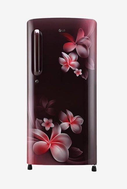 LG GL-B201ASPY 190 L Inverter 5 Star Direct Cool Single Door Refrigerator (Scarlet Plumeria)