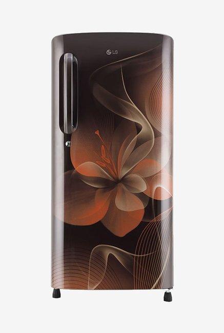 LG GL-B201AHDX 190 L Inverter 4 Star Direct Cool Single Door Refrigerator (Hazel Dazzle)
