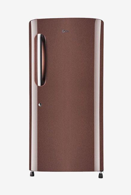 LG GL-B221AASX 215 L Inverter 4 Star Direct Cool Single Door Refrigerator (Amber Steel)