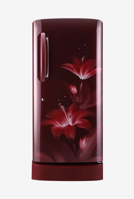 LG GL-D241ARGX 235 L Inverter 4 Star Direct Cool Single Door Refrigerator (Ruby Glow)